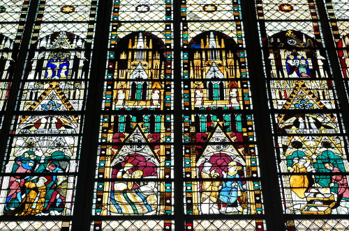 Church of Saint Ouen, stained glass