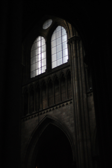 Darkness, Rouen Cathedral